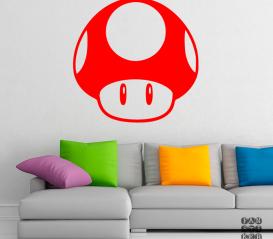 Принт на стену Гриб Марио