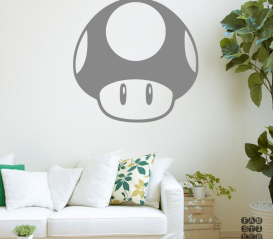 Декоративный стикер Гриб Марио