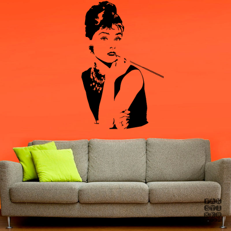 Одри Хепберн. Audrey Hepburn sticker