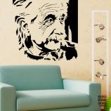Декоративный принт Эйнштейн.Einstein sticker . Категория