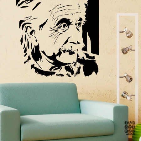 Эйнштейн.Einstein sticker