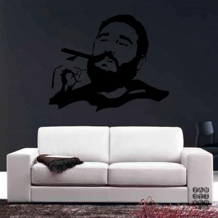 Фидель Кастро. Fidel Castro sticker