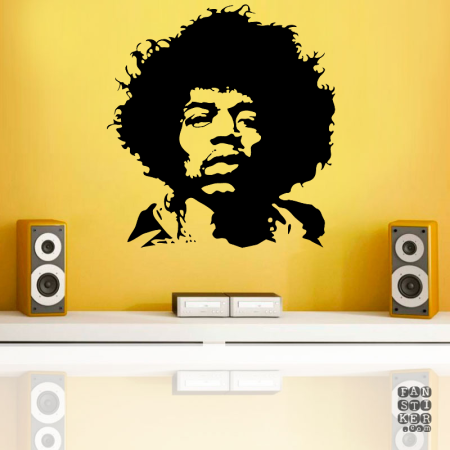 Джими Хендрикс. Jimi Hendrix sticker