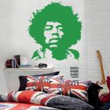 Купить наклейку Джими Хендрикс. Jimi Hendrix sticker