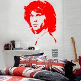 Заказать стикер Джим Моррисон. Jim Morrison sticker