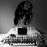 Декоративный принт Боб Марли. Bob Marley sticker