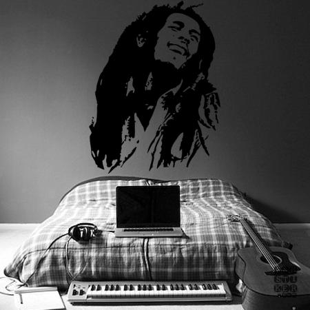 Боб Марли. Bob Marley sticker