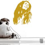 Стикер для декора Боб Марли. Bob Marley sticker