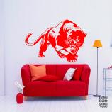 Декоративный стикер Пантера