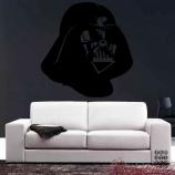 Декоративный принт Шлем Вейдера. Vader's helmet sticker