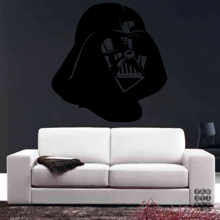 Шлем Вейдера. Vader's helmet sticker