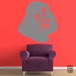 Наклейка для декора Шлем Вейдера. Vader's helmet sticker