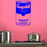 Заказать стикер Суп Кэмпбэлл.Campbell Soup sticker