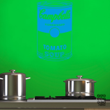 Стикер для декора Суп Кэмпбэлл.Campbell Soup sticker