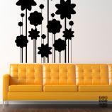 Наклейка на стену Цветы Арт