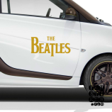 Стикеры на машины The Beatles logo