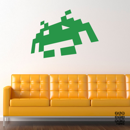 Космические захватчики. Space Invaders sticker