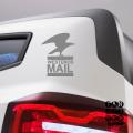 Виниловые наклейки для автомобилей Почта Вестероса. Westeros Mail sticker