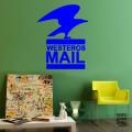 Наклейка для декора Почта Вестероса. Westeros Mail sticker