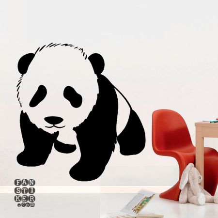 Маленькая Панда. Llittle Panda sticker