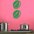 Декоративный принт Cola Cap sticker