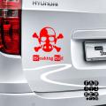 Виниловые наклейки для автомобилей Хайзенберг Пират. Hiesenbierg Pirat sticker