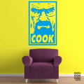Принт Walter Cook Poster sticker