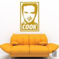 Виниловый декоративный интерьерный стикер Jesse Cook sticker