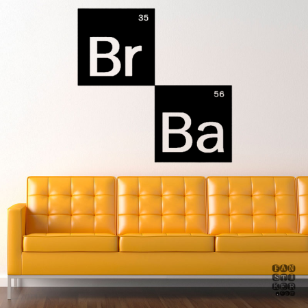 Во Ввсе Тяжкие Лого. Breaking Bad logo sticker