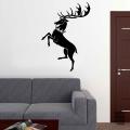 Виниловая наклейка на стену Дом Баратеон.House Baratheon sticker