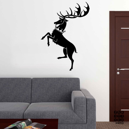 Дом Баратеон.House Baratheon sticker