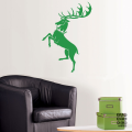 Интерьерная наклейка на стену Дом Баратеон.House Baratheon sticker