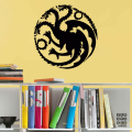 Наклейка Дом Таргариенов. House Targaryen sticker