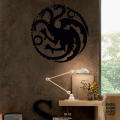 Принт на стену Дом Таргариенов. House Targaryen sticker