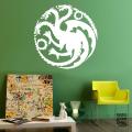 Декоративная наклейка Дом Таргариенов. House Targaryen sticker