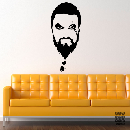 Кхал Дрого.Khal Drogo sticker