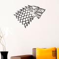 Наклейка на стену Дом Старков. House Stark sticker