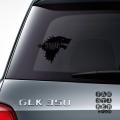 Наклейки для автомобилей Зима Приближается.Winter is Coming sticker