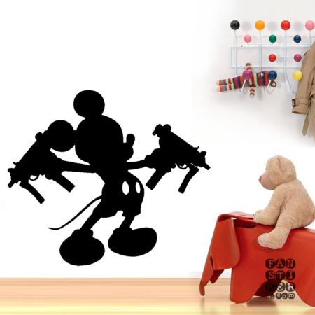 Опасный Микки. Dangerouse Mickey sticker