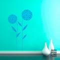 Виниловый декоративный интерьерный стикер Два Одуванчика