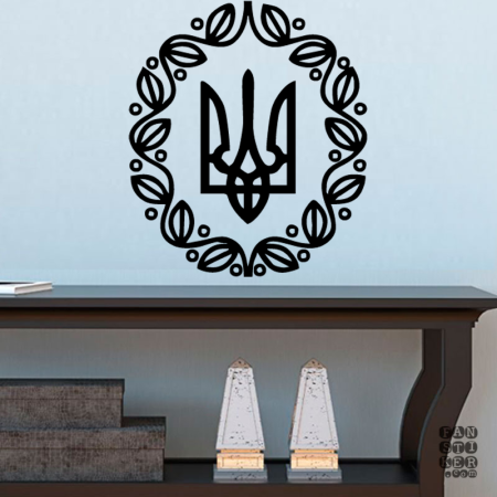 Малый Герб УНР | Small Emblem Ukraine