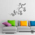 Стикер Сакура и Соловей | sticker Sakura and Nightingale