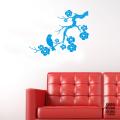 Наклейка для декора Сакура и Соловей | Sticker Sakura and Nightingale