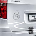 Стикеры на машины Спящий Пикачу|Pikachu-Pokemon-Sleeping