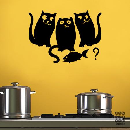 Котики и Рыбка|Cat-Fish
