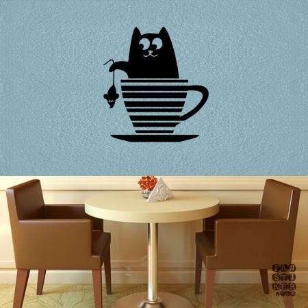 Кот в чашке|Cat In Cup