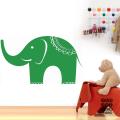 Виниловая наклейка Слон в интерьере