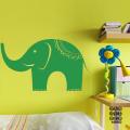 Виниловый декоративный интерьерный стикер Слон Elephant