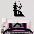 Декоративный стикер Мэрилин Монро|Monro