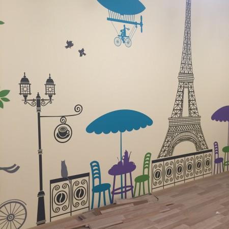 Наклейки на стену Мебель и Предметы интерьера